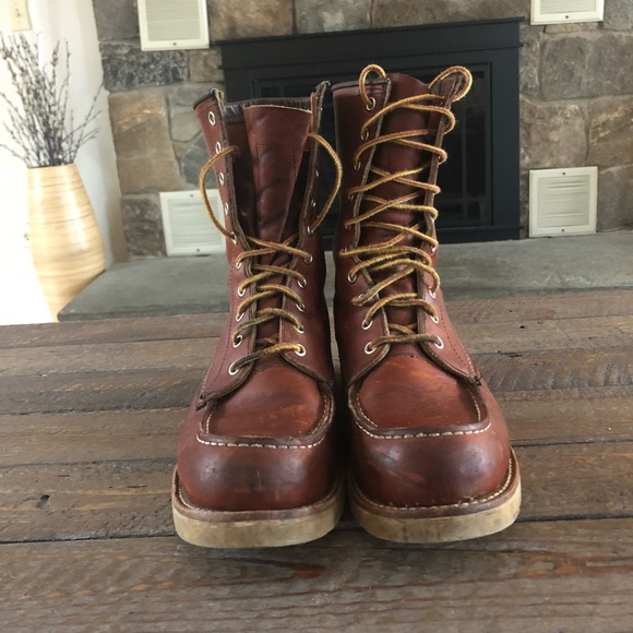 7ad45dc5c02 Red Wing 877 8 inch moc toe Boots
